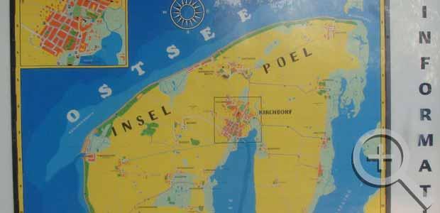 Karte Insel Poel Und Umgebung.Fotos Insel Poel Ferienhaus Kersten